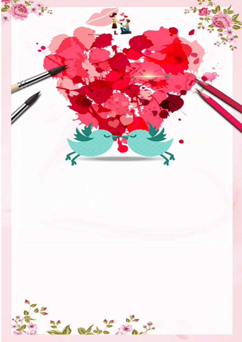 (Romantic Style) Hand Drawing Romantic Stationery 04.docx