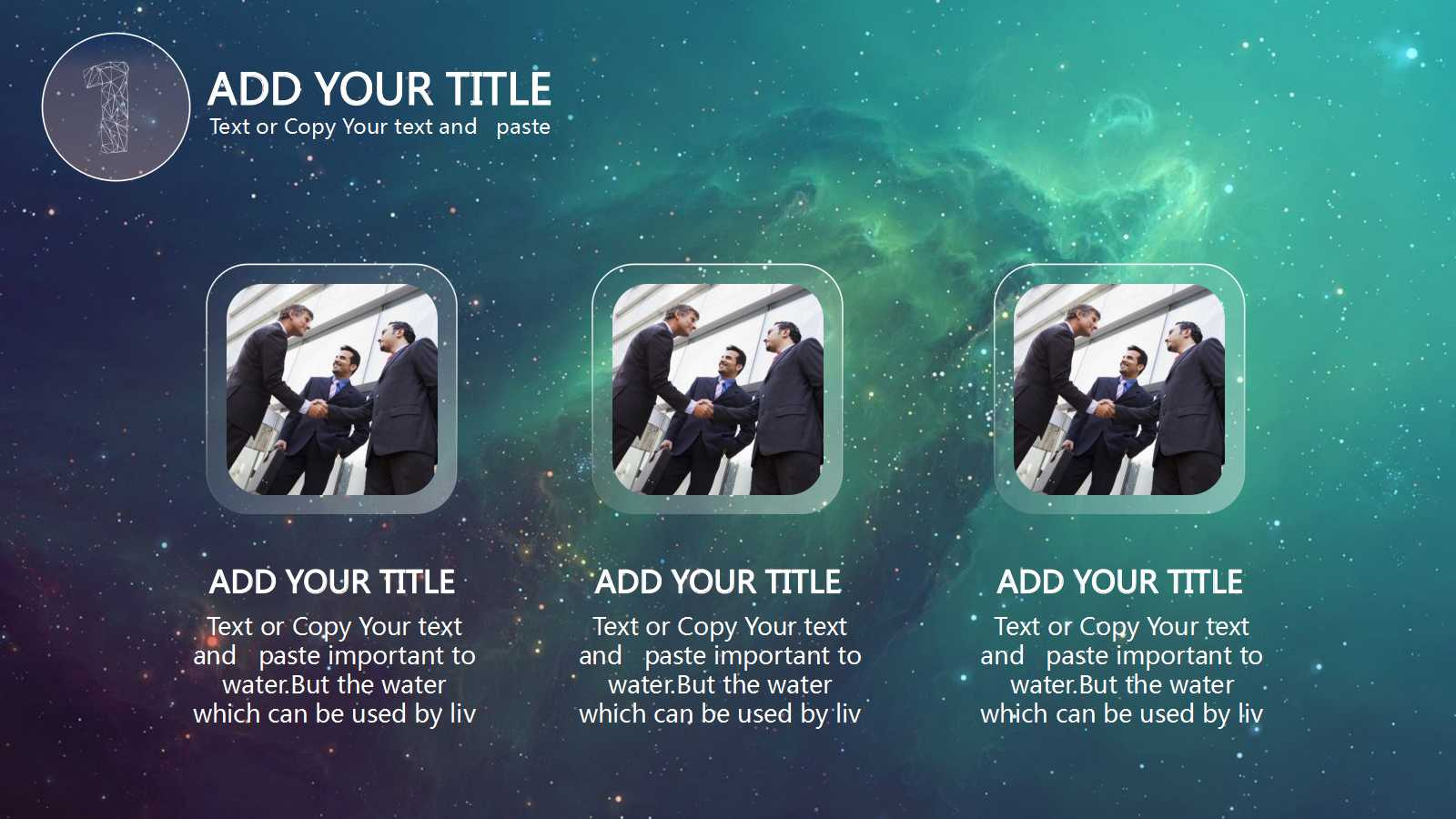 ios style general ppt template pptx