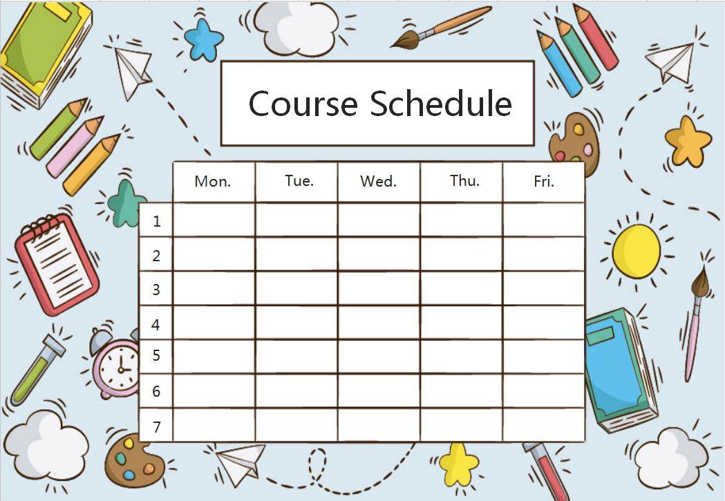 [Course]Painter's Tools Schedule.xls