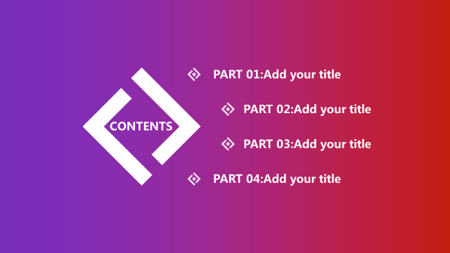 Gradient Hazy Color Block  general Mid year Report template.ppt