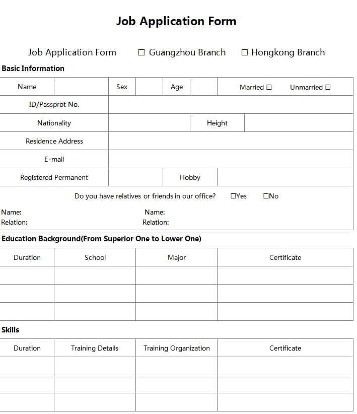 Downloadable Job Application Template from ddmcwelcycgld.cloudfront.net