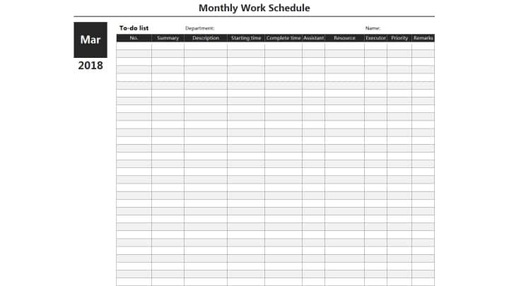 Monthly Work Schedule.xlsx
